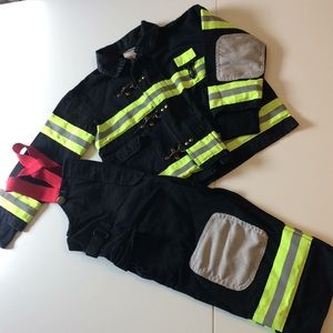 🚒 2 piece Fireman Costume